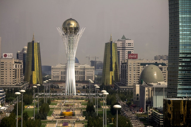 Astana. Foto di Ben Dalton