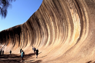 Wave Rock, la spettacolare onda di roccia in Australia