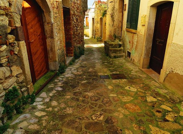 Stradine di Zungoli. Foto di Gianfranco Vitolo