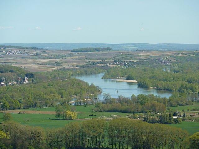 veduta di Sancerre, Valle della Loira – Foto Wikimedia Commons