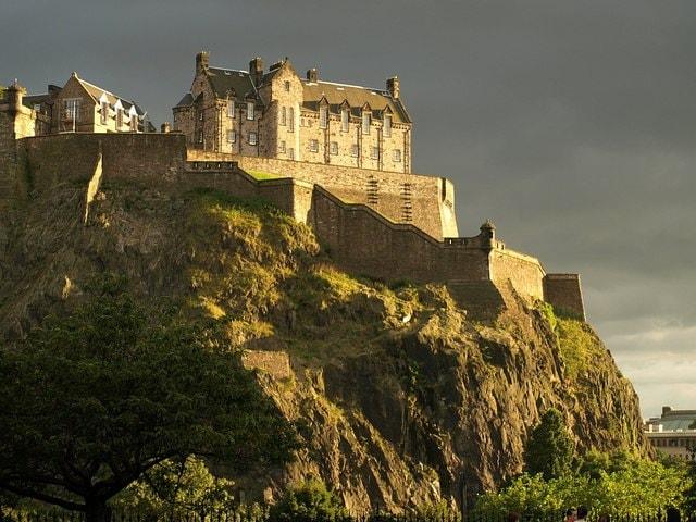 Castello di Edimburgo – Foto Wikimedia Commons