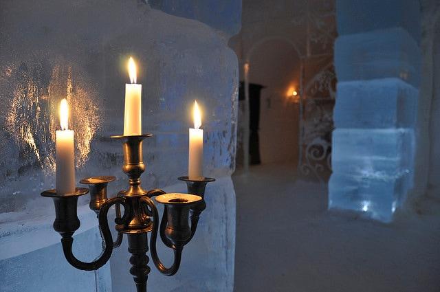 Hotel di ghiaccio. Foto di Svein M