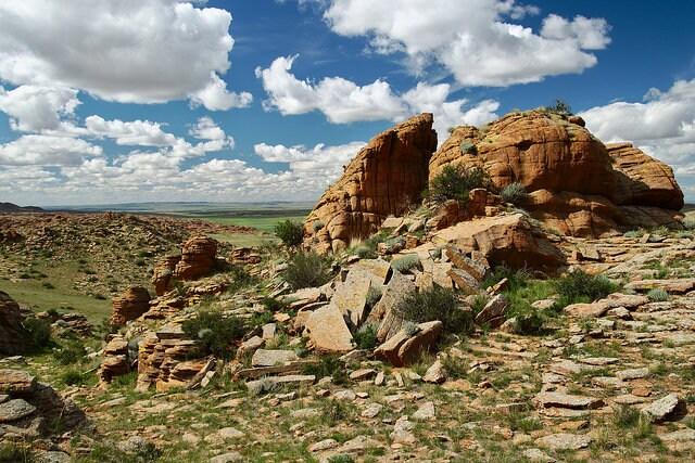 La bellezza della natura in Mongolia. Foto di Rob Oo