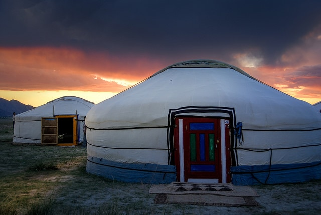 Casa nomade. Foto di Bern Thaller