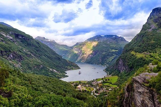 Geirangerfjord – Foto Wikimedia Commons