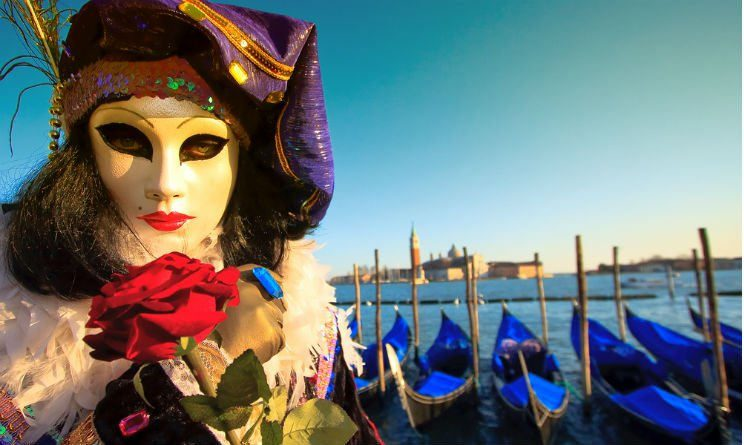 Carnevale di Venezia. Foto da Flickr