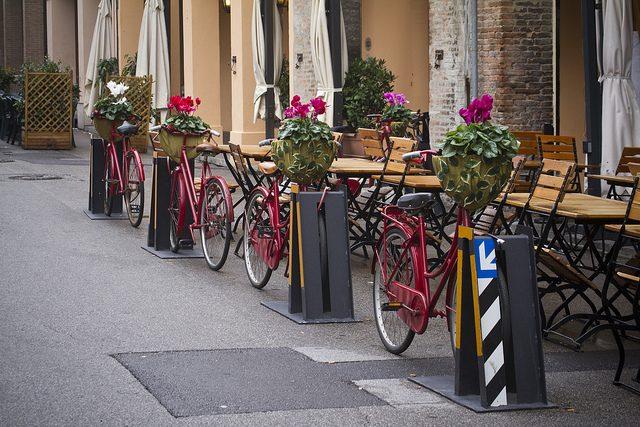 Ferrara in bici. Foto da Flickr