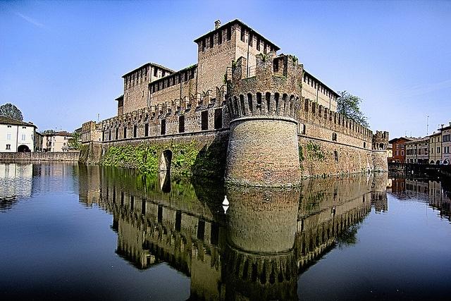 Rocca Sanvitale di Fontanellato. Foto da Flickr