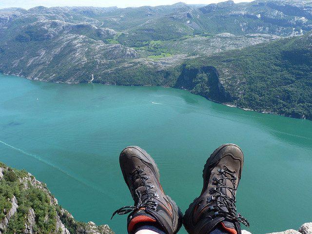 Veduta del Lysefjord dal Preikestolen – Foto di Gerben Jacobs