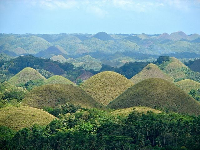 Chocolate Hills – Foto Wikimedia Commons