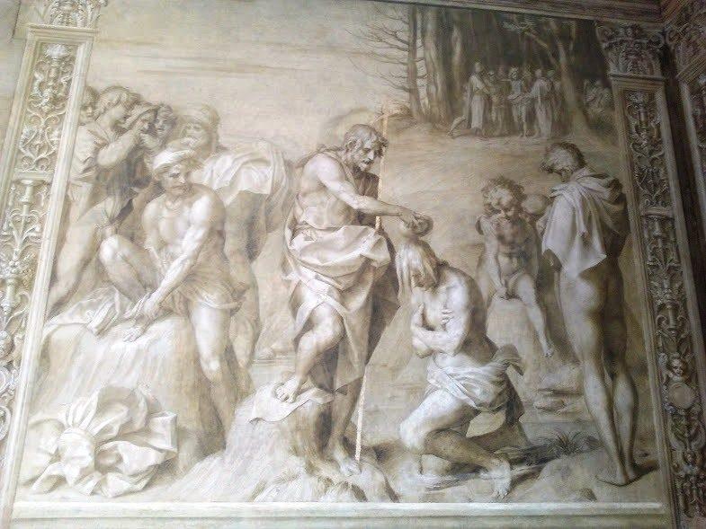 Andrea del Sarto, Battesimo delle genti