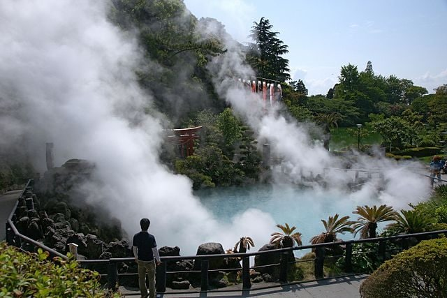 Umi Jigoku, Beppu – Foto Wikimedia Commons