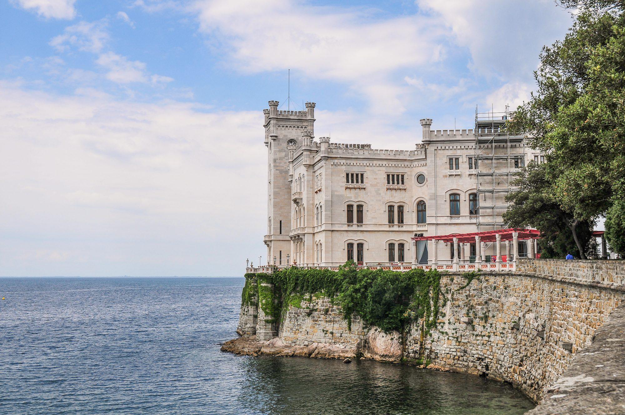 Castello di Miramare. Foto di Raffaele Cabras