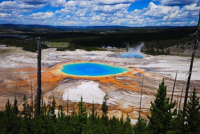 Grand Prismatic Spring, Yellowstone, USA – Foto di abhisawa