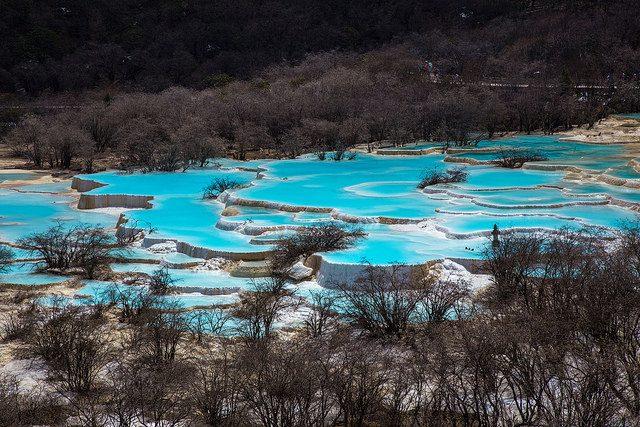 Huanglong, Cina – Foto di Jean–Marie Hullot