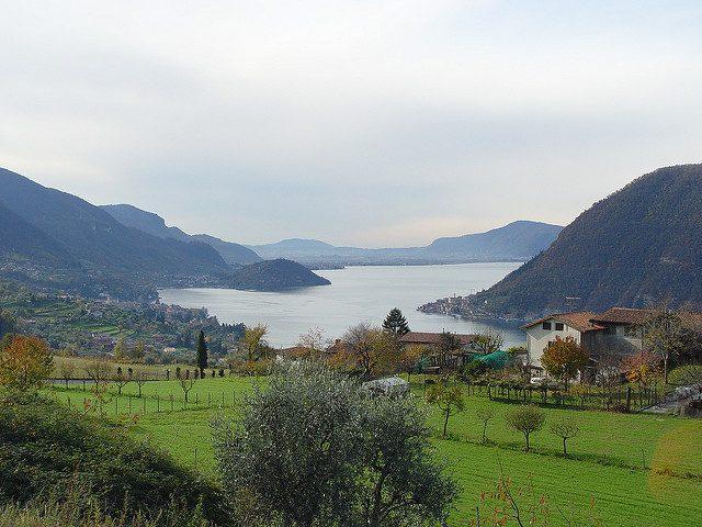 Lago d'Iseo. Foto di Franco Folini