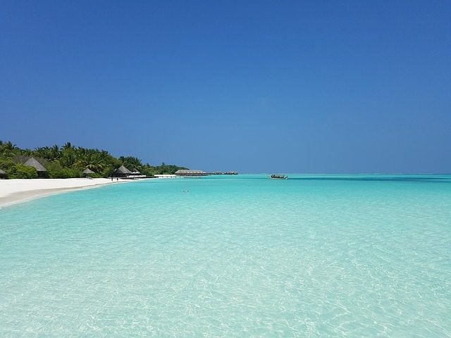 Atollo delle Maldive – Foto maxpixel.freegreatpicture.com