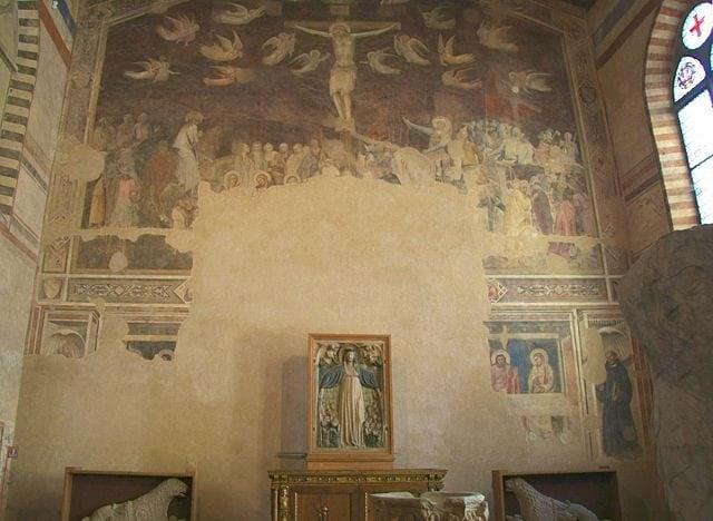 Andrea Orcagna, Crocifissione – Foto Wikimedia Commons