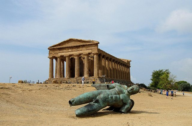 Valle dei Templi Agrigento. Foto di Alain Muller