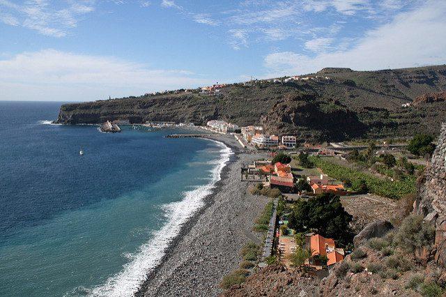 Le spiagge de La Gomera. Foto di Axel Brocke