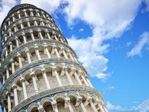 Torre di Pisa. Foto da Pixabay