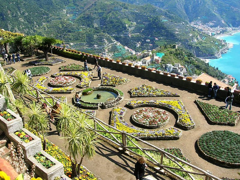Villa Rufolo. Foto da Wikipedia