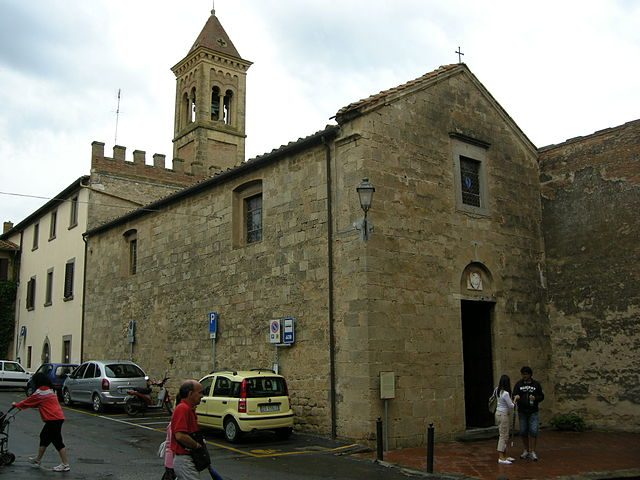 Chiesa dei Santi Giacomo e Cristoforo, Bolgheri – Foto Wikipedia