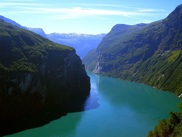 Geirangerfjord – Foto Wikimedia Commons
