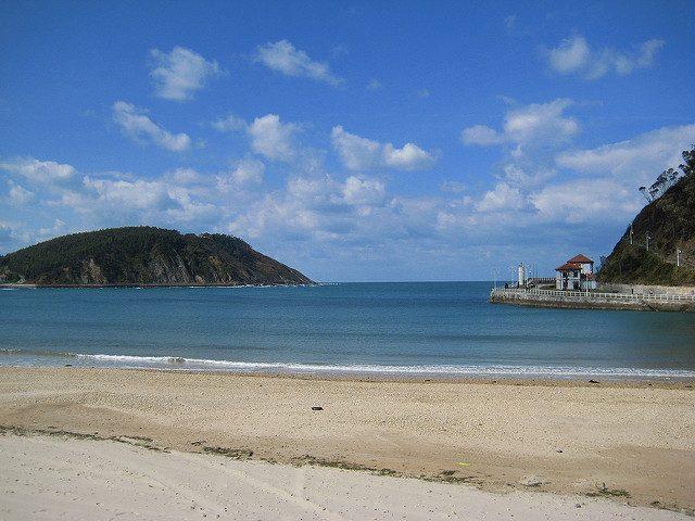 Playa de Santamarina. Foto di Cayetano