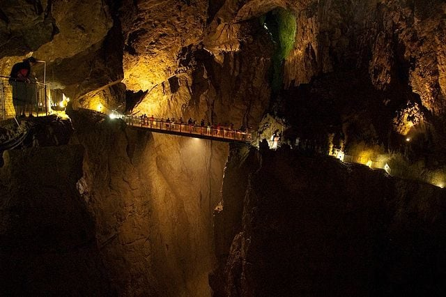 Grotte di San Canziano (Skocjan) – Foto Wikimedia Commons