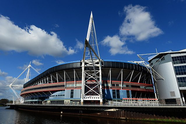 Panoramica del Millennium Stadium di Cardiff (Getty).