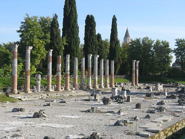 Foro Romano di Aquileia – Foto Wikipedia