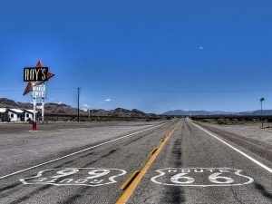 Route 66. Foto di Dave Johnson