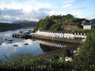 Portree, il cuore dell'isola di Skye
