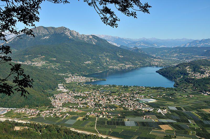 Lago di Caldonazzo. Foto da Wikipedia