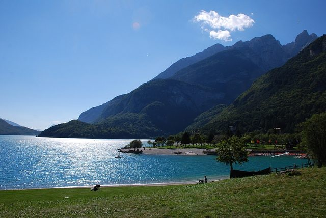 Lago di Molveno. Foto di Enrico Sartori