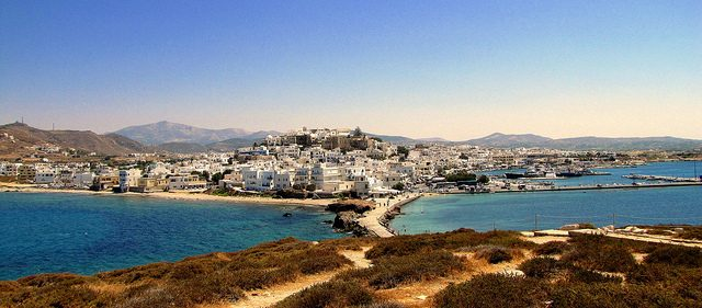 Naxos. Foto di Luca Bertinetto