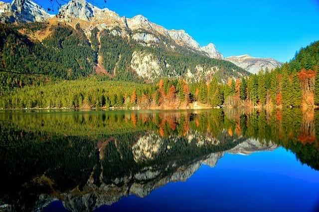 Lago di Tovel. Foto di Stefano Parmesan