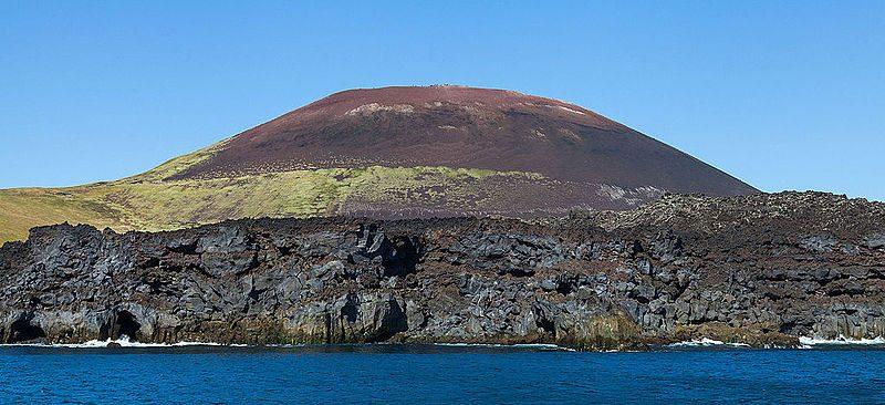 Vulcano Eldfell. Foto da Wikipedia