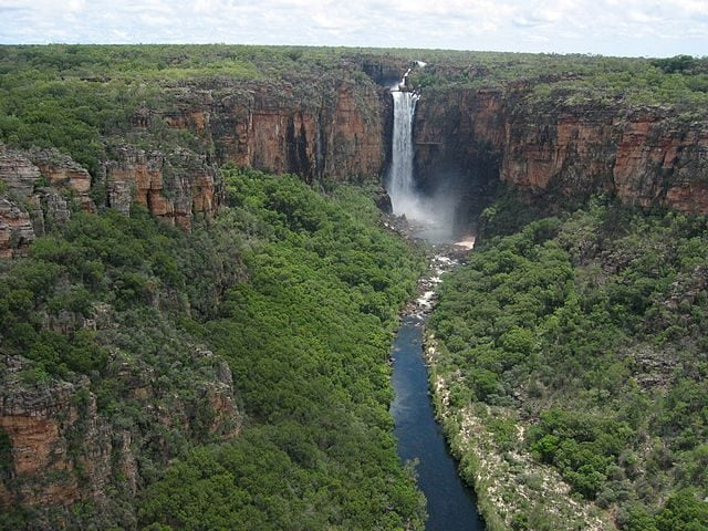 Jim Jim Falls, Kakadu National Park – Foto Wikimedia Commons