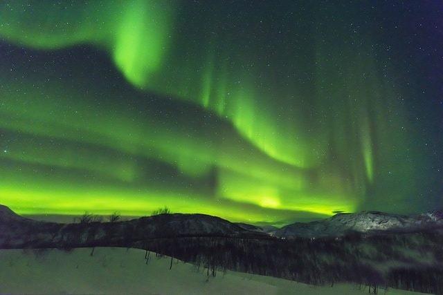 Aurora Boreale Isole Lofoten. Foto di torino071
