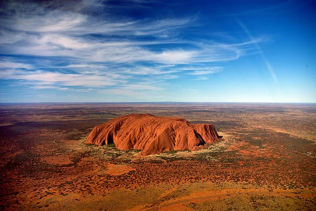 Uluru (Ayers Rock) – Foto Wikimedia Commons