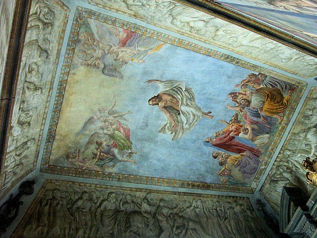 Lucignano, affresco nella chiesa di San Michele Arcangelo – Foto Wikipedia