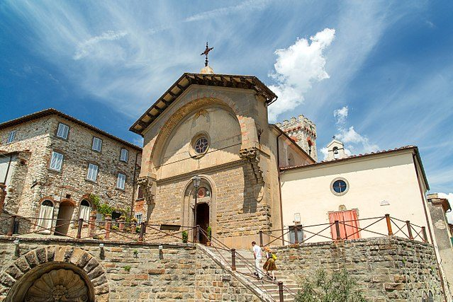 Radda in Chianti, Propositura di San Niccolò (Foto Wikimedia Commons)