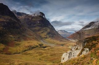 La valle di Glencoe, uno dei luoghi più affascinanti della Scozia