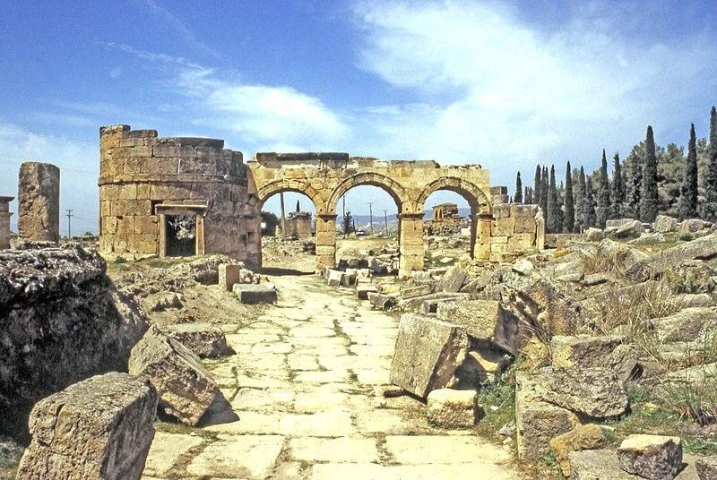 Hierapolis in Turchia. Foto di MM