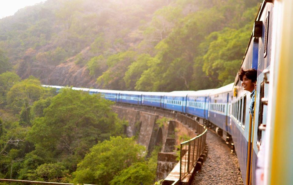 Viaggio di nozze in treno