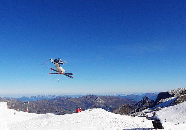 Sciare a Novembre in Austria