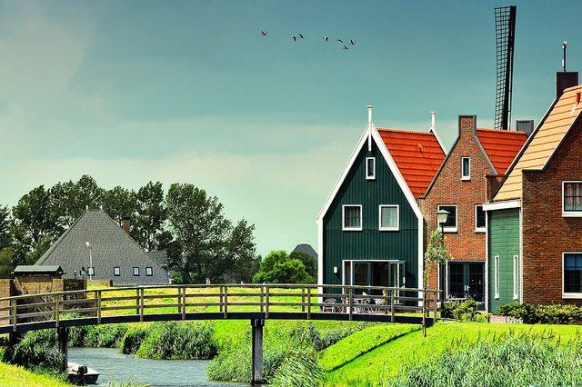 Volendam in Olanda