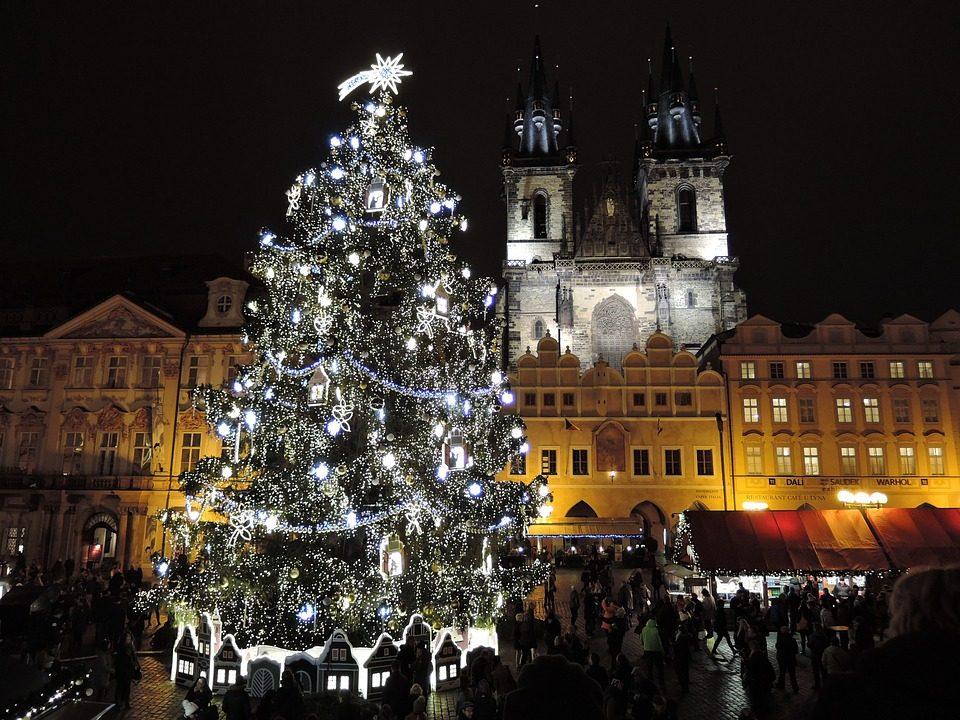 Praga nel periodo natalizio